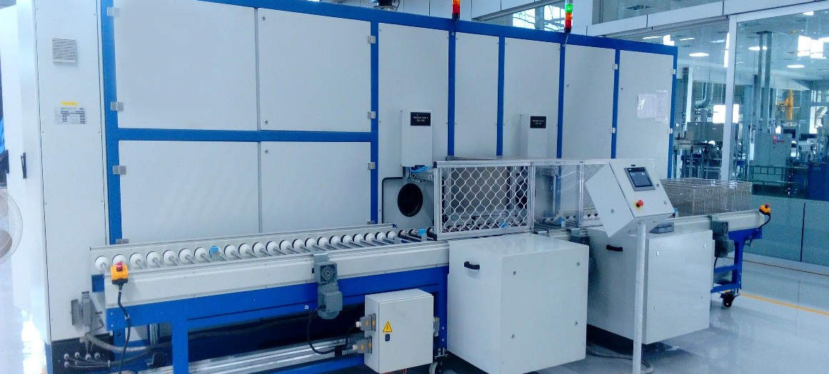 EcoCtwin Twin chamber Cleaning Machine
